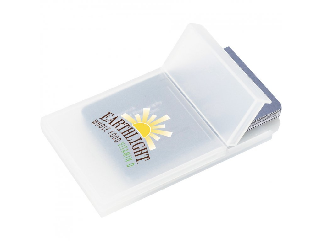 Bullet Promotional Products SM-9475 Plastic Business Card Holder