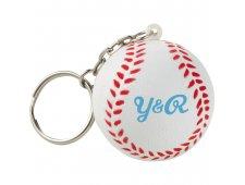 Homerun Baseball Keychain