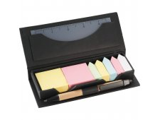 Sticky Note Desktop Set in Recycled Case