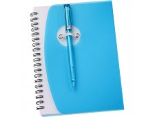 "5"" x 7"" Sun Spiral Notebook with Pen"
