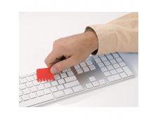Silicone Keyboard Brush Key Ring