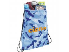 Camo Oriole Drawstring Bag